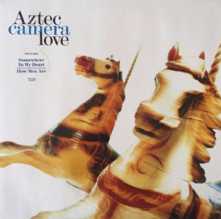Aztec Camera - Love (LP) (VG/VG+)
